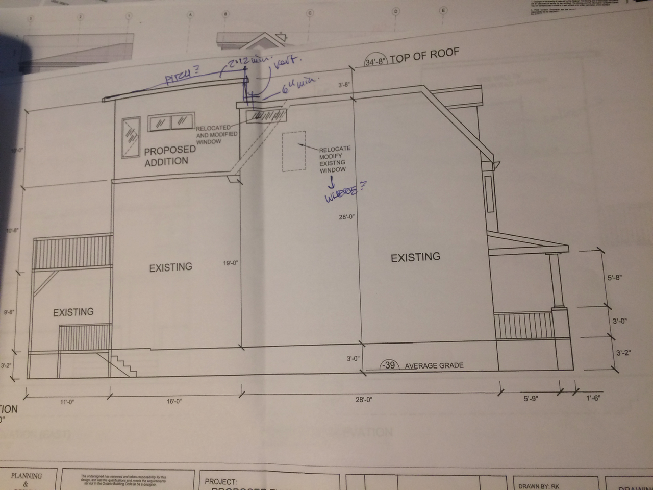 Elevation Plan Notes : Thomson architecture inc why a bcin is not an architect